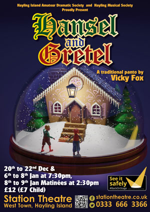 Hayling Island What's On Event Hansel and Gretel Poster