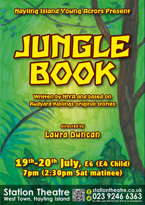 Hayling Island What's On Event Jungle Book Poster