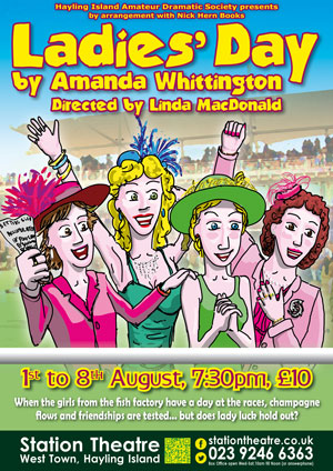 Hayling Island What's On Event Ladies' Day Poster