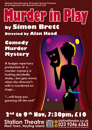 Hayling Island What's On Event Murder in Play Poster