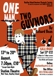 HIADS poster for One Man, Two Guvnors