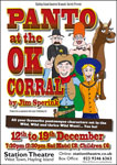 Poster of Panto At The OK Corral