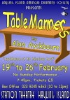 HIADS poster for Table Manners