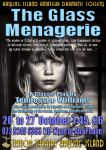 HIADS poster for The Glass Menagerie