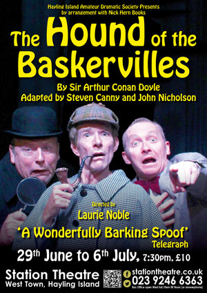 Hayling Island What's On Event The Hound of the Baskervilles Poster
