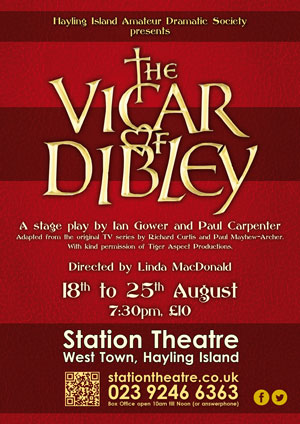 Hayling Island What's On Event The Vicar of Dibley Poster