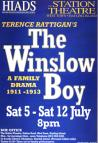 HIADS poster for The Winslow Boy